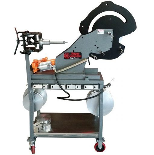 Combination tube bender and notcher