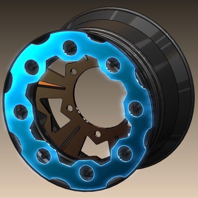 H Wheel Rock Rings