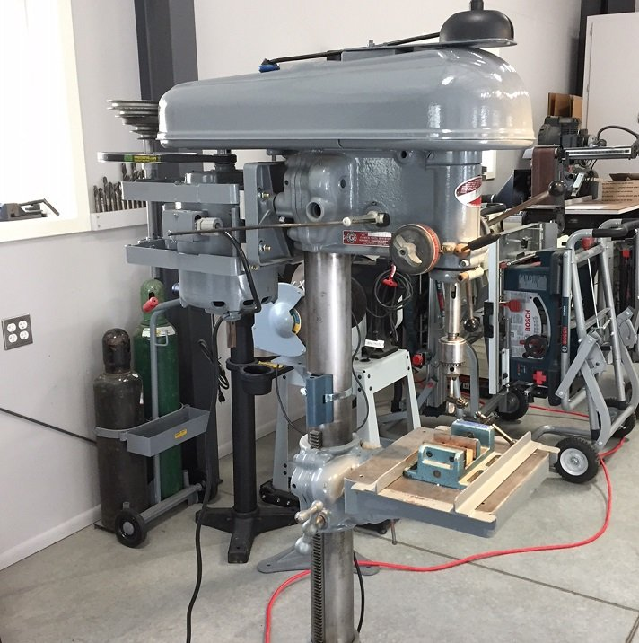 Drill Press Reduction Kit 41 Ratio 12 Belts For Variable Speed