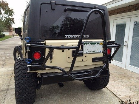 JK Tire Carrier