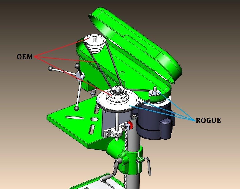D P R K  Tech - Rogue Fabrication