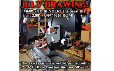 July 2019 drawing! Enter to win!