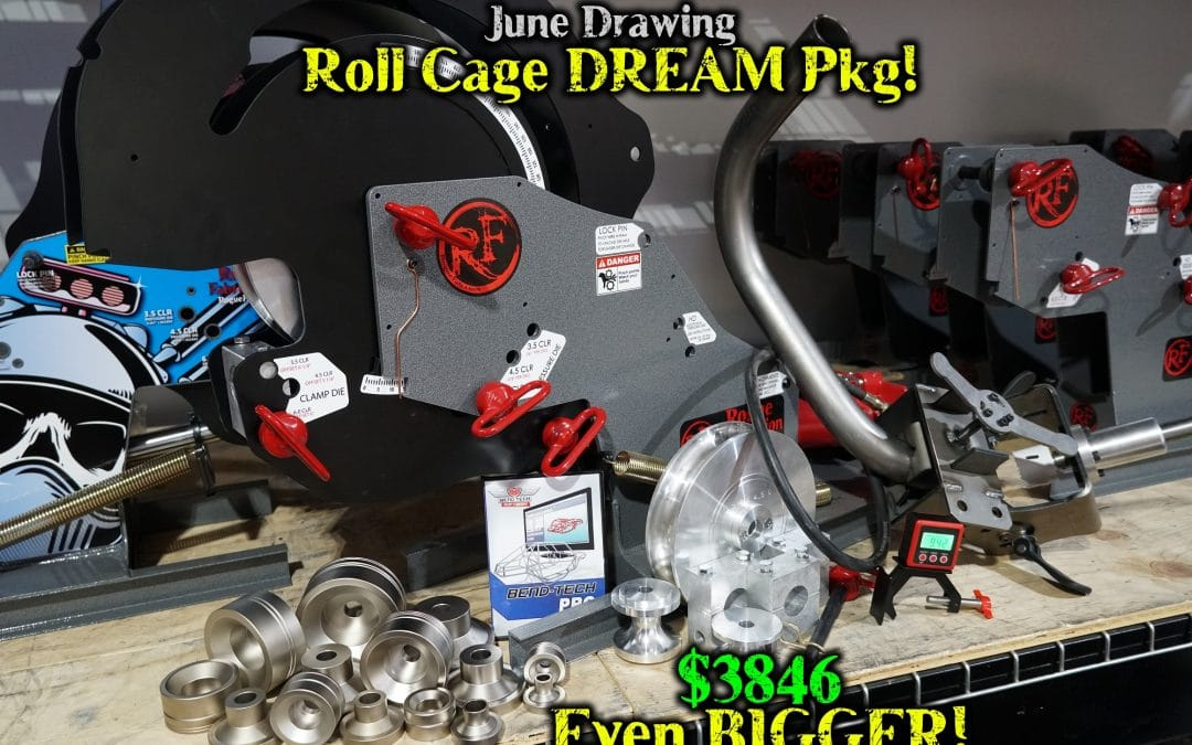 June 2020 Drawing – Even BIGGER Roll Cage Dream PKG!