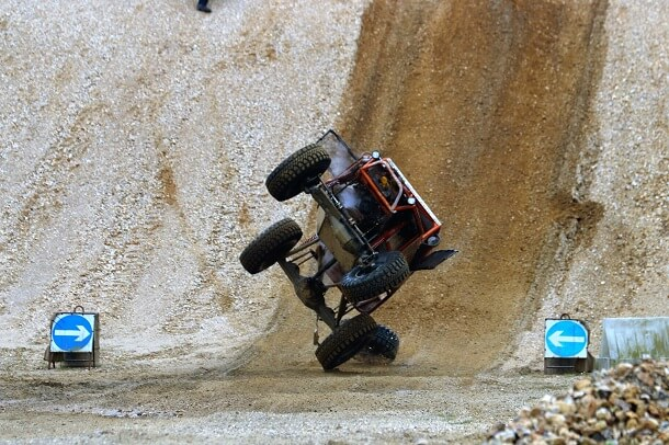 Off Road Crash