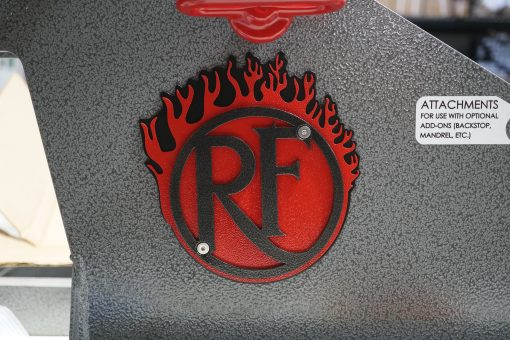 Black Backer, Red Flame With Black Logo Unedited