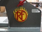 Yellow Flame, Red Logo